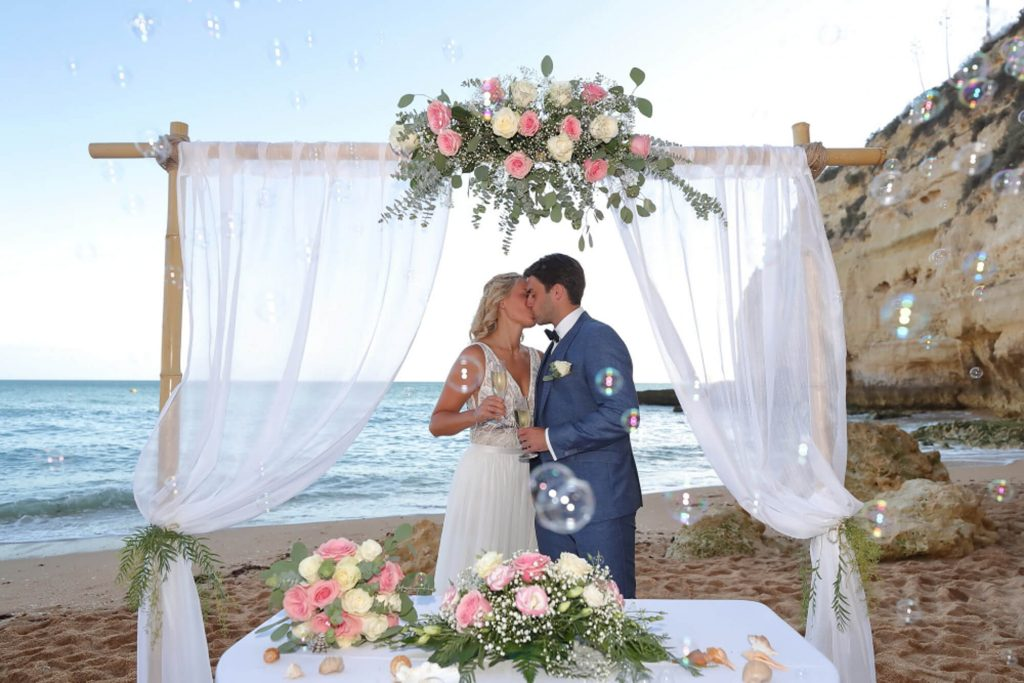 Algarve Weddings - Heiraten am Strand. Traumhochzeit an der Algarve. Trauung am Strand